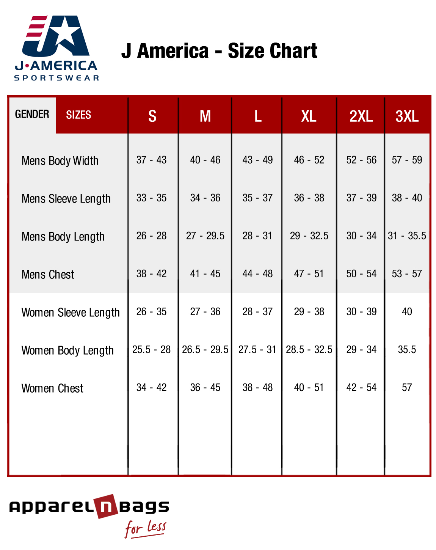 Women's Dress Sizes Table